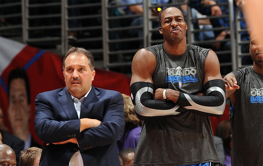 Stan Van Gundy og Dwight Howard