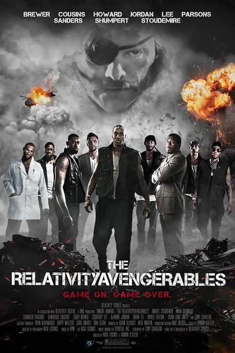 The RelativityAvengerables_poster