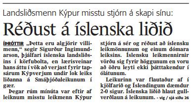 island-kypur-umsogn-frettabladid